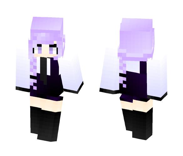 Danganronpa Distrust Kyoko Kirigiri - Female Minecraft Skins - image 1