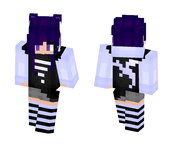 Hoki (Oc) - Female Minecraft Skins - image 1