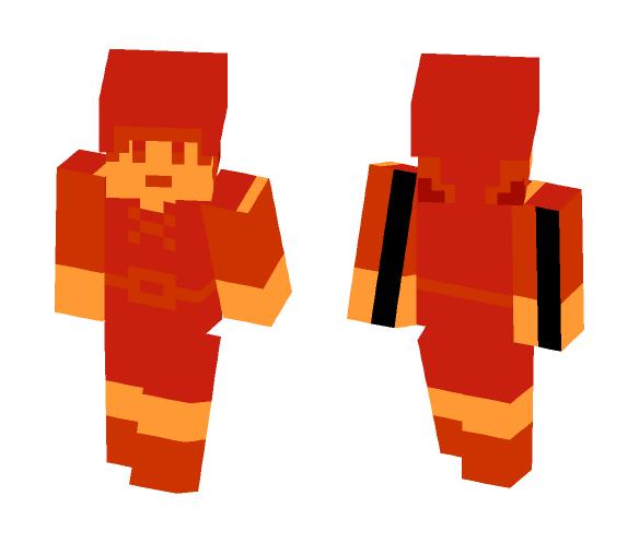 Legend of Zelda: 8 Bit Link (Red) - Male Minecraft Skins - image 1