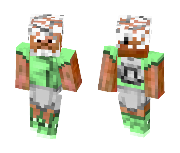 Elderly Mountain Climber - Male Minecraft Skins - image 1