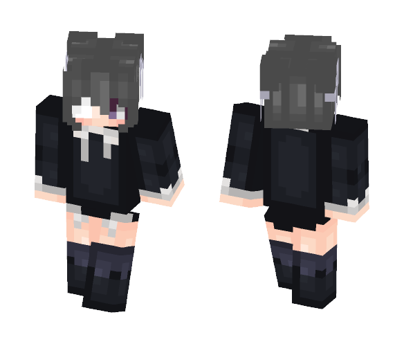 Grey Hairs Before Her Time.. - Female Minecraft Skins - image 1