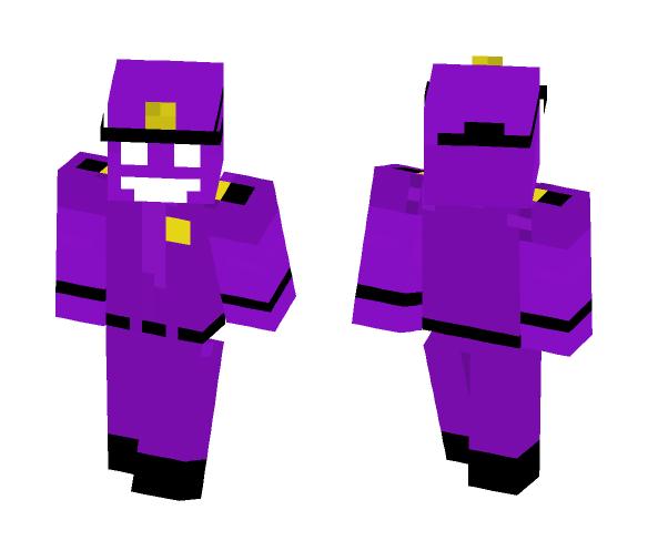 Download Purple Guy 8 Bit Minecraft Skin For Free Superminecraftskins