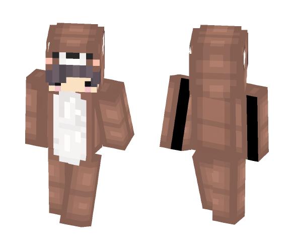 Download Bear Onesie Chibi Minecraft Skin For Free