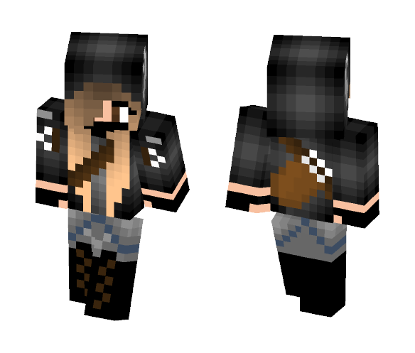 Archer with Horns - Female Minecraft Skins - image 1