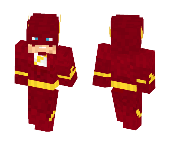 The flash - Comics Minecraft Skins - image 1