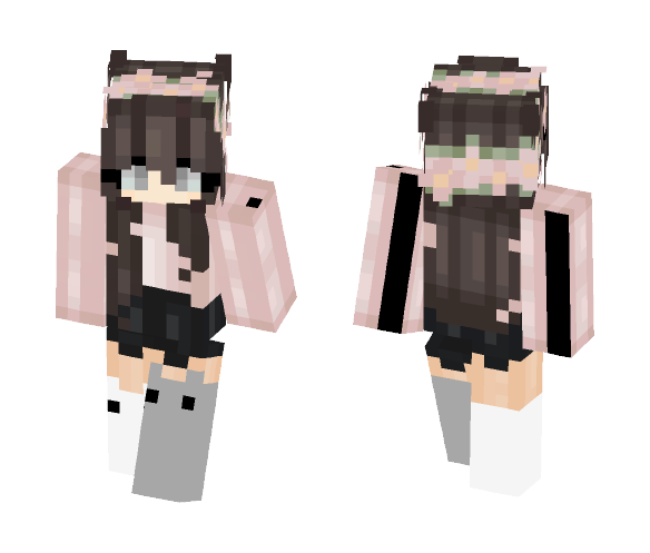 Download Cute Cat Girl Minecraft Skin For Free Superminecraftskins