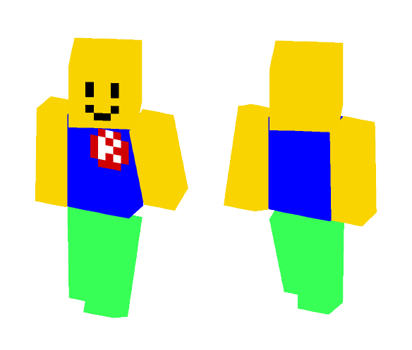 Roblox Noob Minecraft Pe Skins Download Roblox Noob Minecraft Skin For Free Superminecraftskins