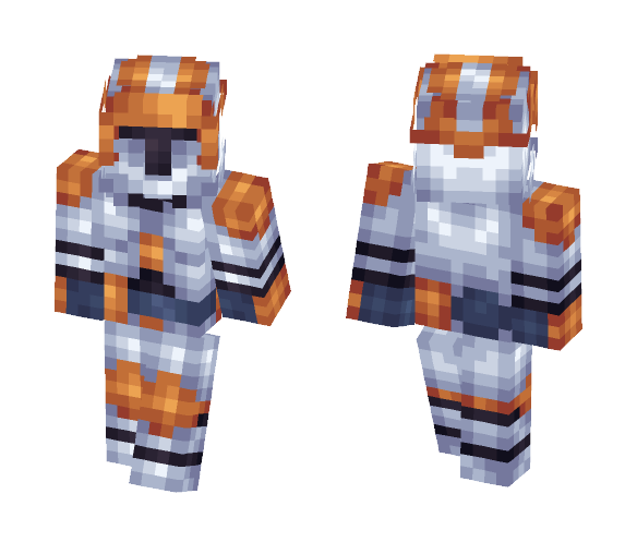 Commander Cody Reloaded - Male Minecraft Skins - image 1