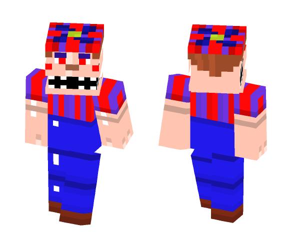 Download Nightmare Ballon Boy Fnaf 4 Minecraft Skin For Free