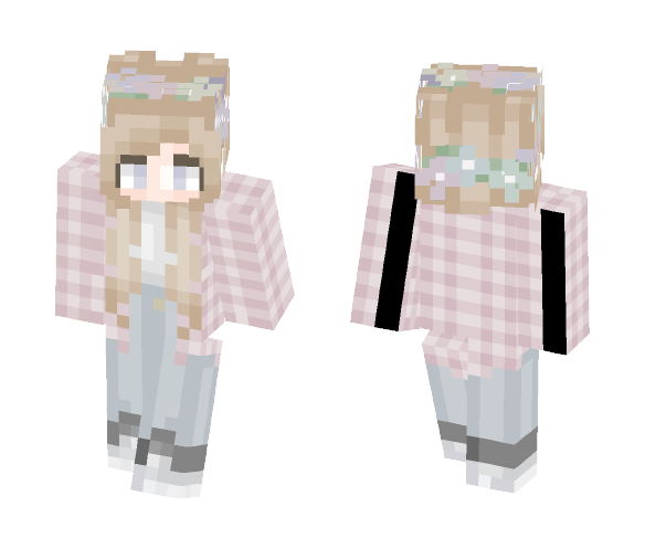 Idk but I like pastel colors - Female Minecraft Skins - image 1