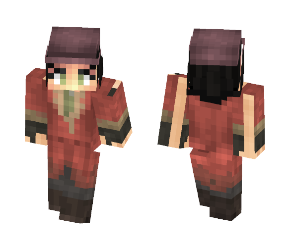 Fallout 4 - Piper Wright - Female Minecraft Skins - image 1