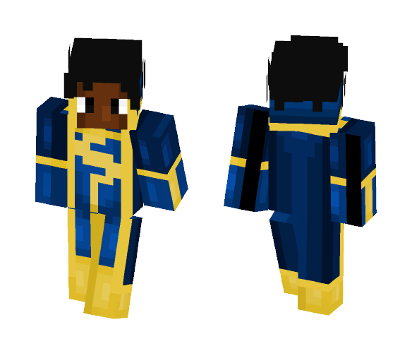 Static Shock - Skin Request - Male Minecraft Skins - image 1