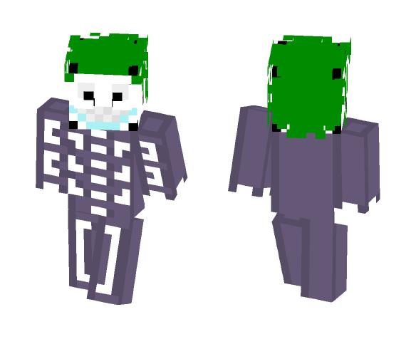 Nightmare Before Christmas Barrel - Christmas Minecraft Skins - image 1