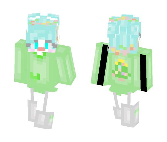 In Teh Christmaz Spirut - Female Minecraft Skins - image 1