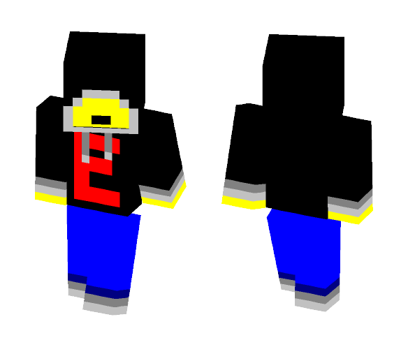 Yellow Guy (With Hoodie) 2 - Male Minecraft Skins - image 1