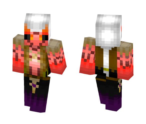 Download Disciple Zebra, bravefrontier Minecraft Skin for