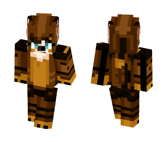 My Fursona :D - Female Minecraft Skins - image 1
