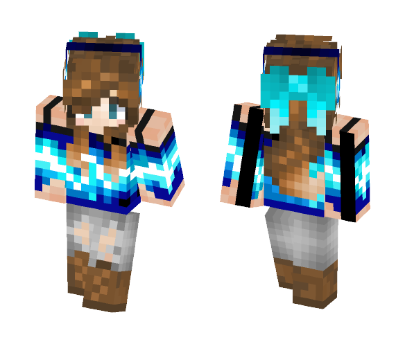 Music girl - contest entry - Girl Minecraft Skins - image 1