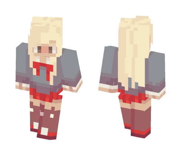 (OC) Poppy - Female Minecraft Skins - image 1