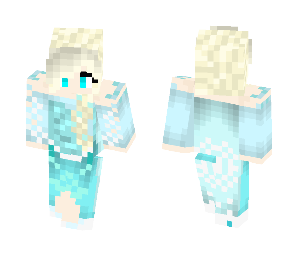Elsa - Female Minecraft Skins - image 1