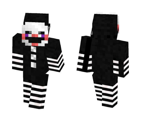 Download FNaF 2 - The Puppet/Marionette Minecraft Skin for