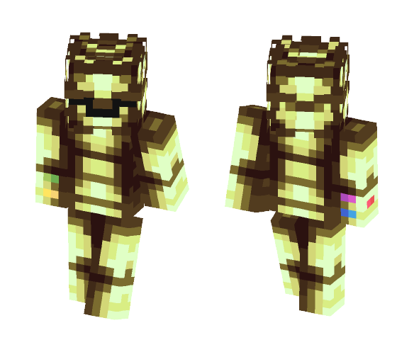 Download Infinity Armor Minecraft Skin for Free