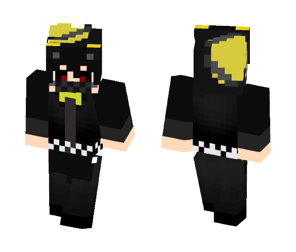 Human Nightmare (Pole-Bear Design) - Male Minecraft Skins - image 1