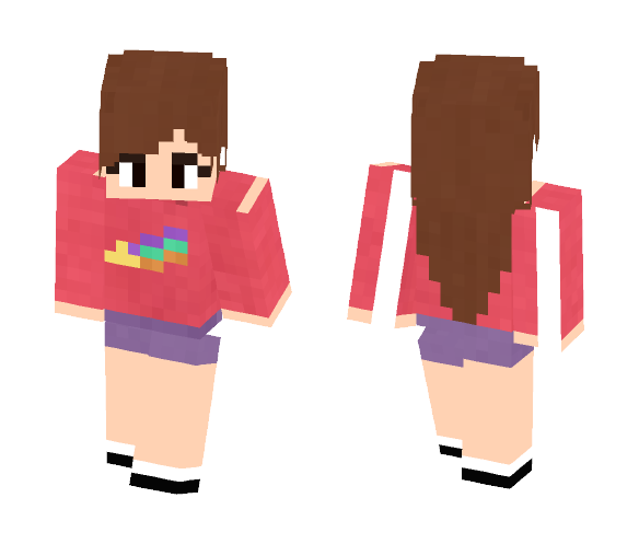 Mabel - Gravity Falls - Female Minecraft Skins - image 1