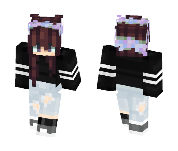 || The SAVAGE || - Female Minecraft Skins - image 1
