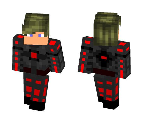 Cyborg dude - Male Minecraft Skins - image 1