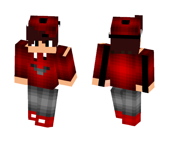 Download Red Cool Boy Minecraft Skin For Free Superminecraftskins