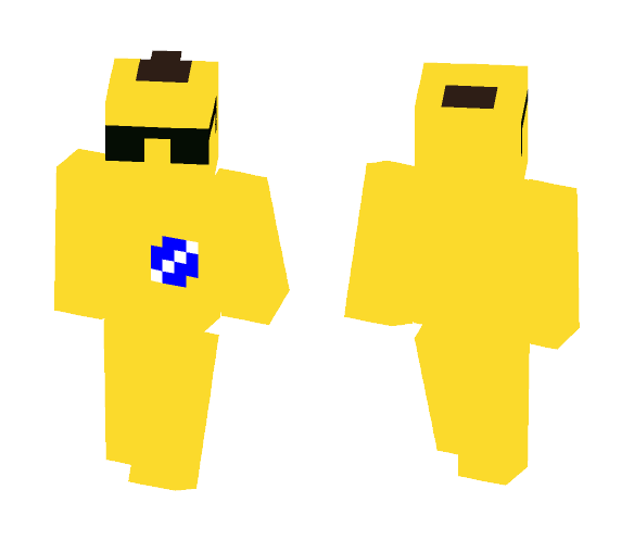 Banana Skin [Request From MrInvis] - Male Minecraft Skins - image 1