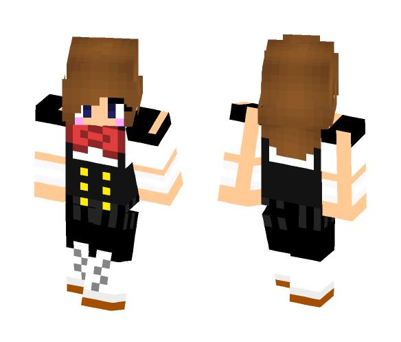 Sekai(School Days) - Female Minecraft Skins - image 1