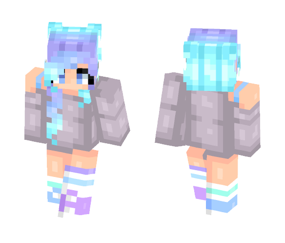 ♥ Some Pastel Colors ♥ ~Ink - Female Minecraft Skins - image 1