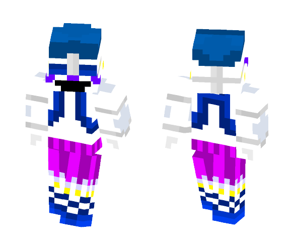 Download Sister Location Ballora Minecraft Skin For Free