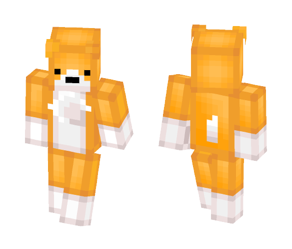 Download Orange Corgi Minecraft Skin for Free