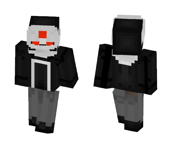 Ghost Rider 1st suit (Robbie Reyes) - Male Minecraft Skins - image 1