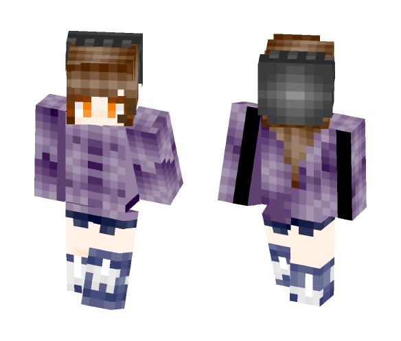 Autum Night Sky - Female Minecraft Skins - image 1