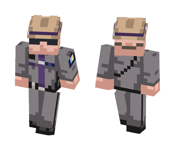 New York State Police Trooper - Male Minecraft Skins - image 1