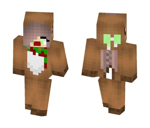 Christmas Skin for Ash - Christmas Minecraft Skins - image 1
