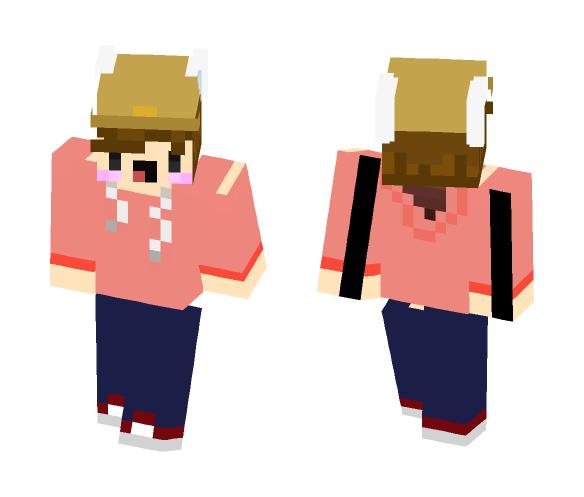 Hat Man - Male Minecraft Skins - image 1