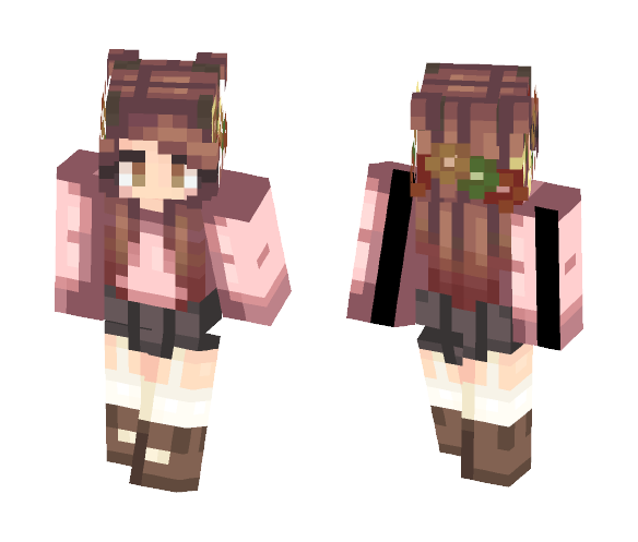 ????Elegant Feast???? - Female Minecraft Skins - image 1