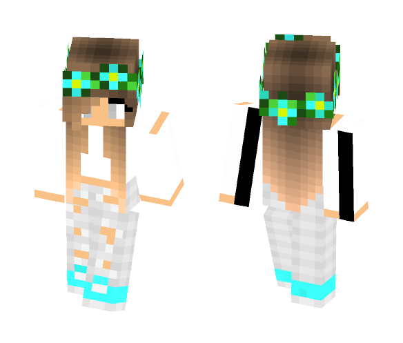 Coco teal 2 - Female Minecraft Skins - image 1