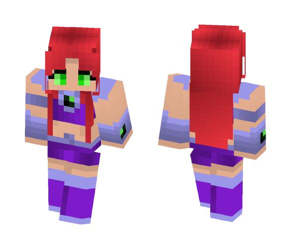 Download Starfire Teen Titans Minecraft Skin for Free