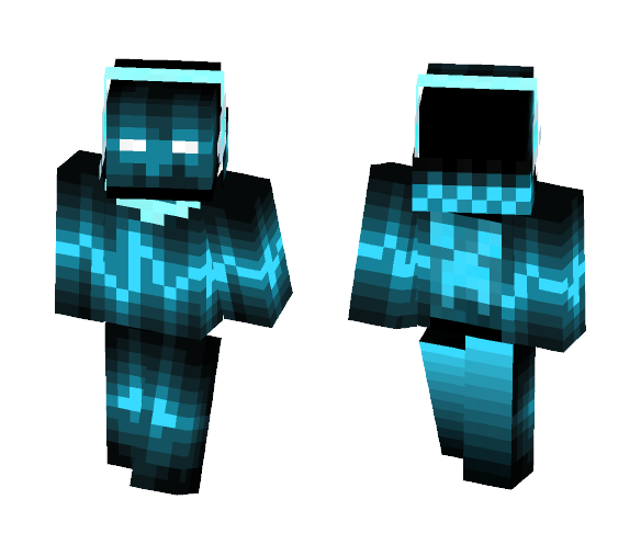 Download Cool Blue Neon Creeper Boy Minecraft Skin For Free Superminecraftskins
