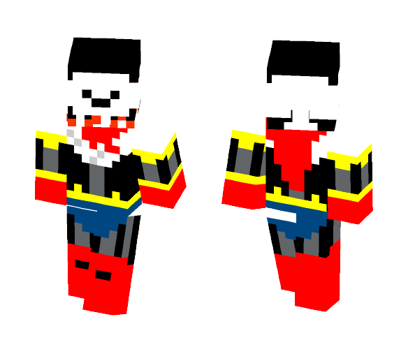 Horrortale Papyrus - Male Minecraft Skins - image 1