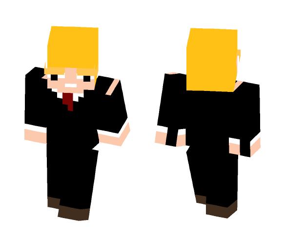 Donald Trump V3 - Male Minecraft Skins - image 1
