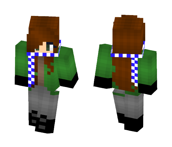 Late Fall Day - Female Minecraft Skins - image 1