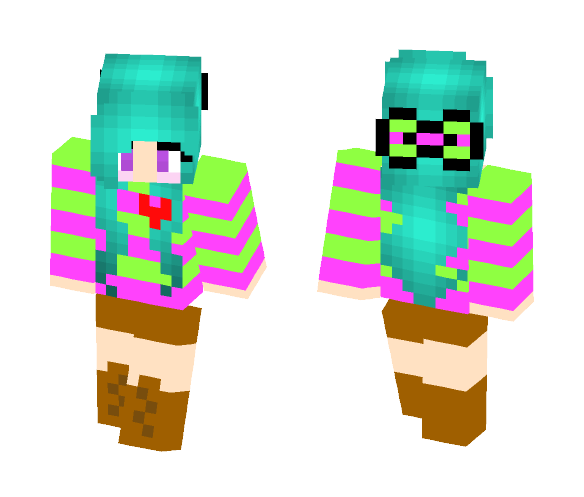 Mia // my own creation - Female Minecraft Skins - image 1
