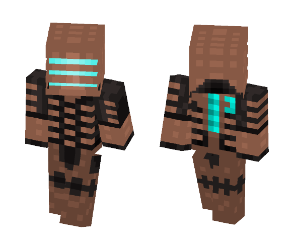 Download Isaac Clarke Dead Space 1 Minecraft Skin For Free